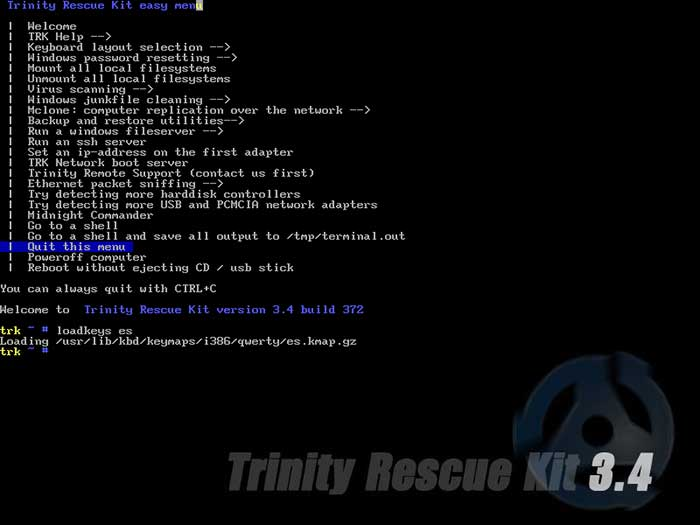 trinity rescue kit 3.4 tutorial