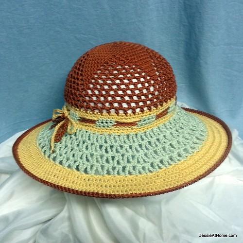 crochet sun hat tutorial