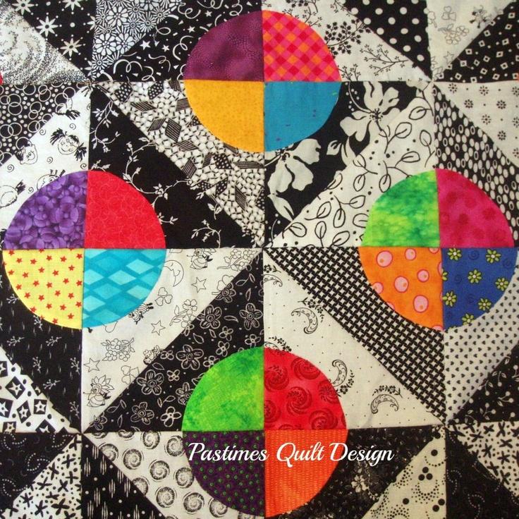 circle quilt block tutorial