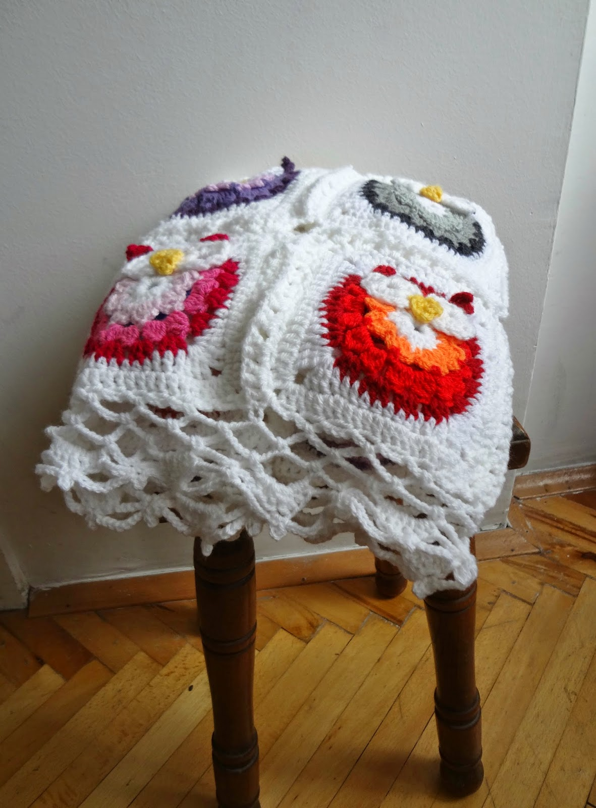 crochet owl blanket tutorial