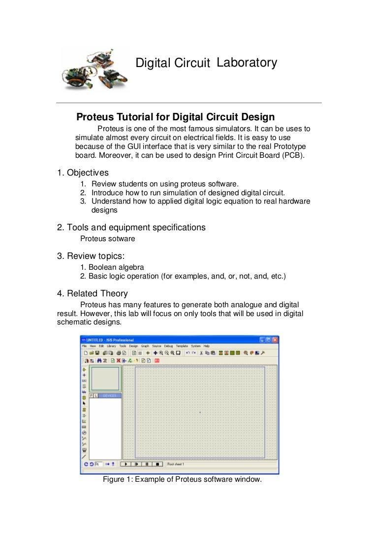 proteus pcb design tutorial