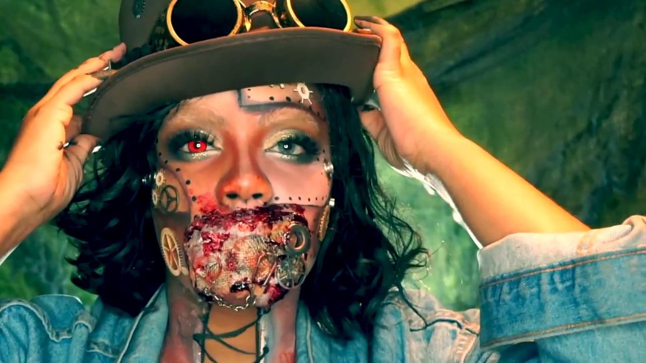 kato steampunk makeup tutorial