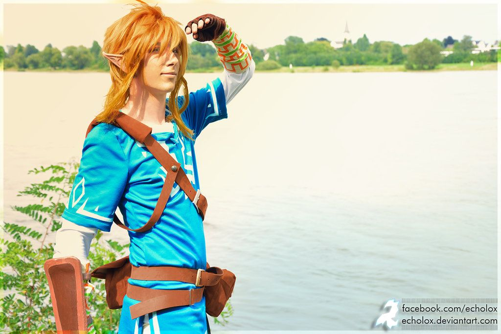 link breath of the wild cosplay tutorial