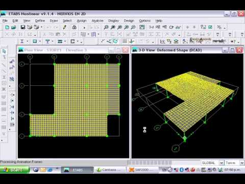 sap2000 shell element tutorial