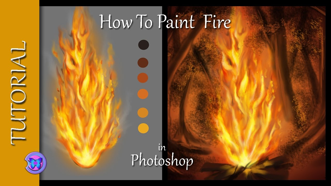 photoshop painting tutorial for beginners
