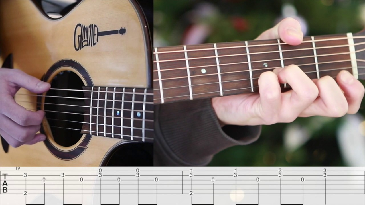 lost stars guitar tutorial