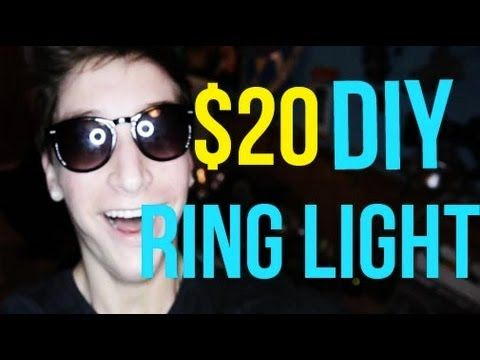 ring light photography tutorial