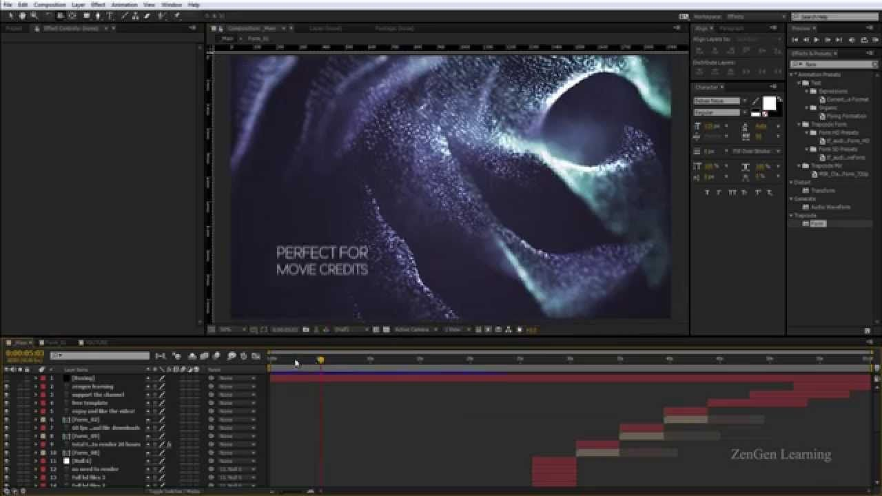after effect video tutorial