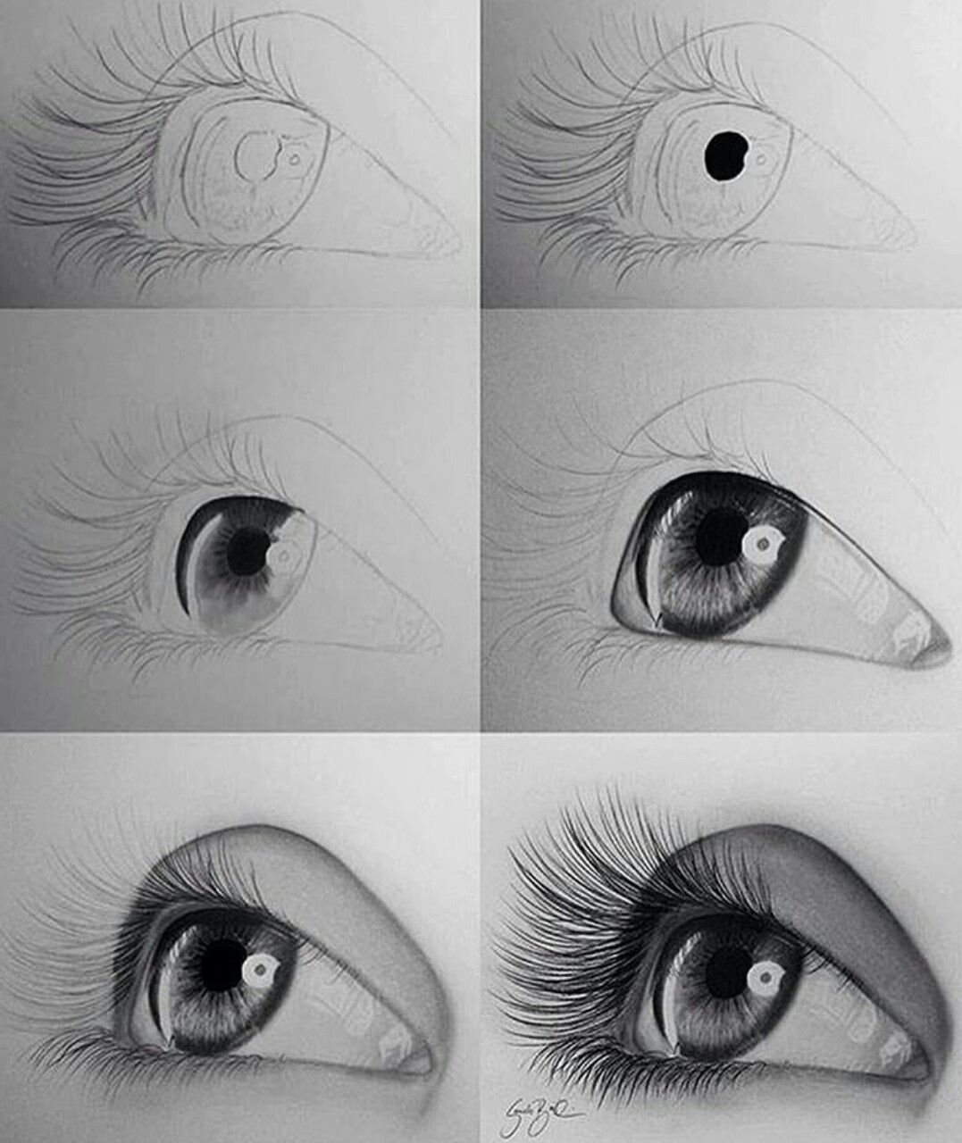 realistic pencil drawing tutorial