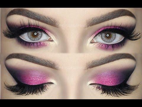colorful smokey eye tutorial