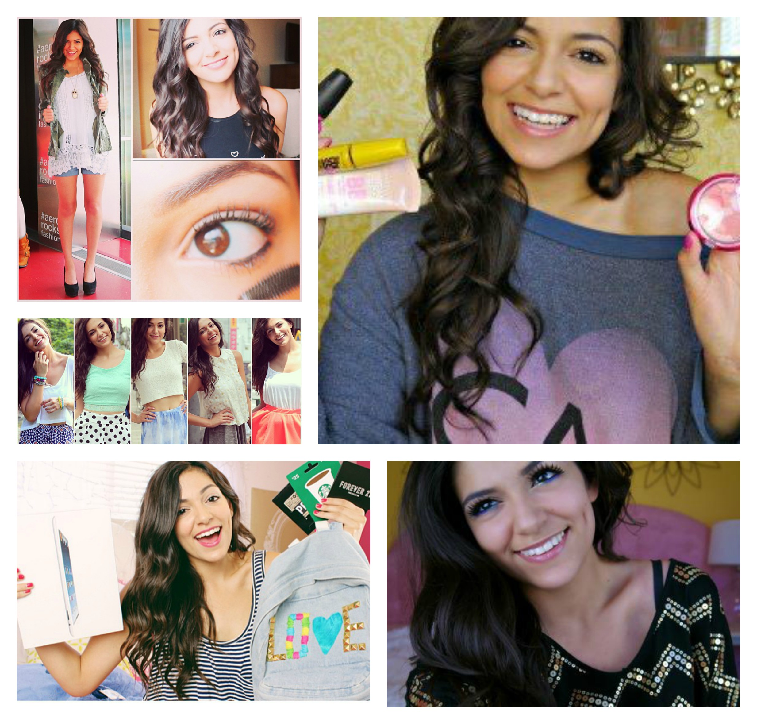 bethany mota makeup tutorial