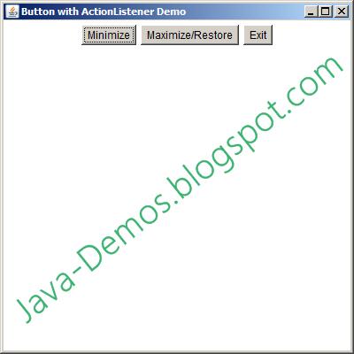 listeners in java tutorial