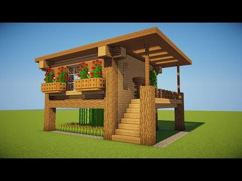 minecraft house design tutorial