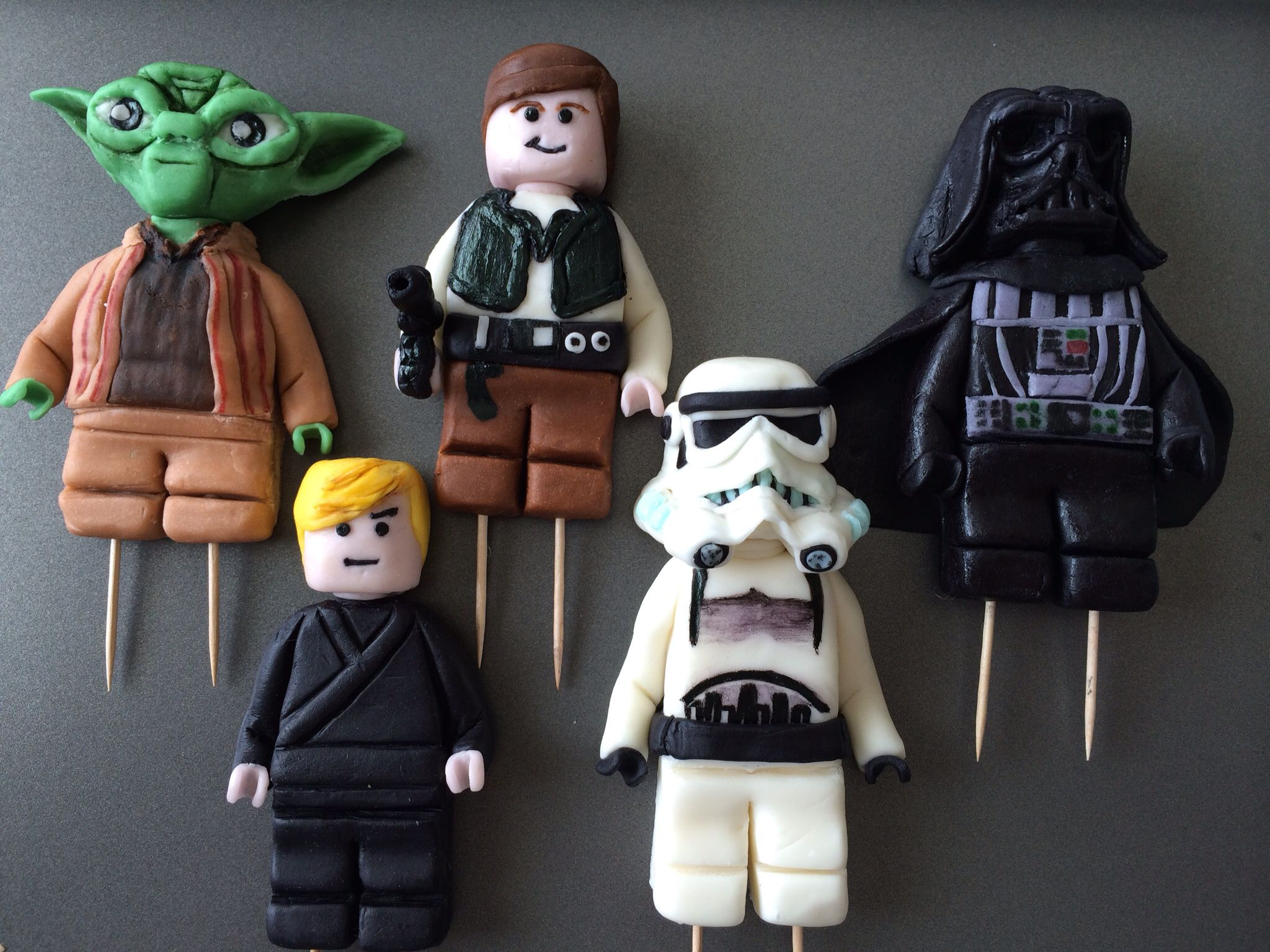 star wars fondant figures tutorial