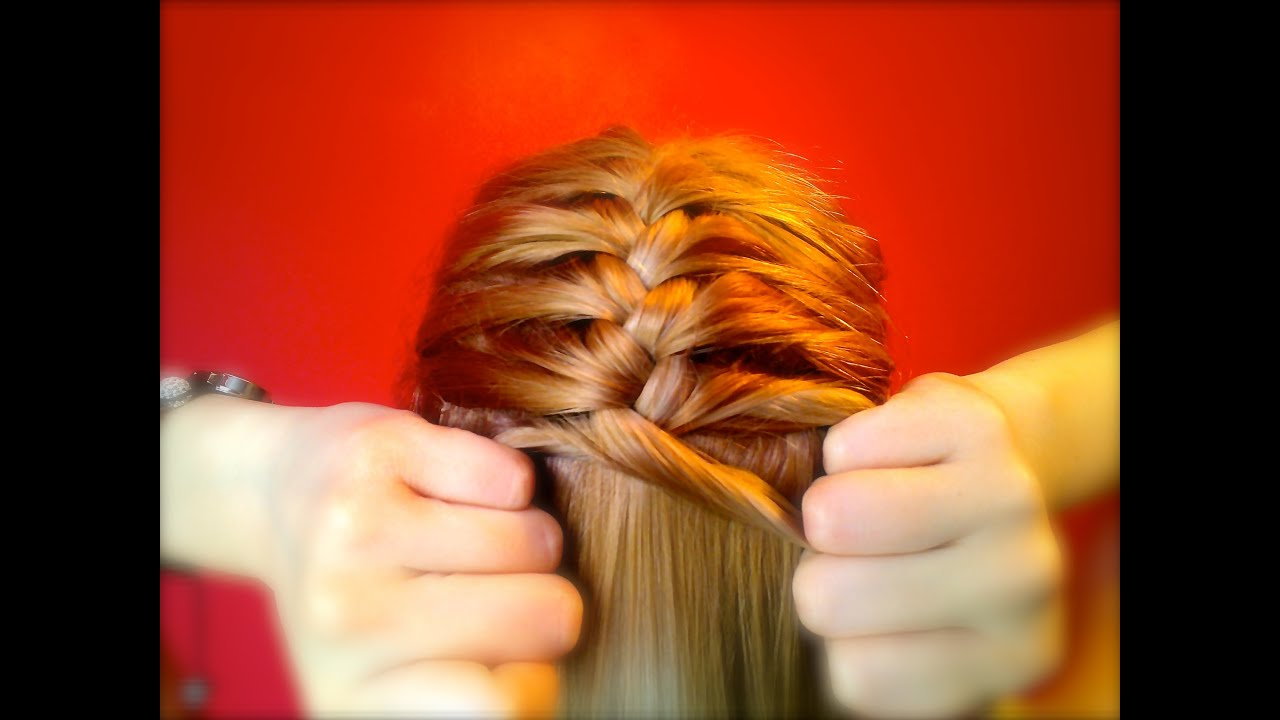 french braid tutorial on yourself