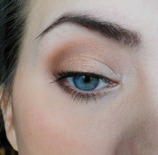 natural makeup tutorial for blue eyes