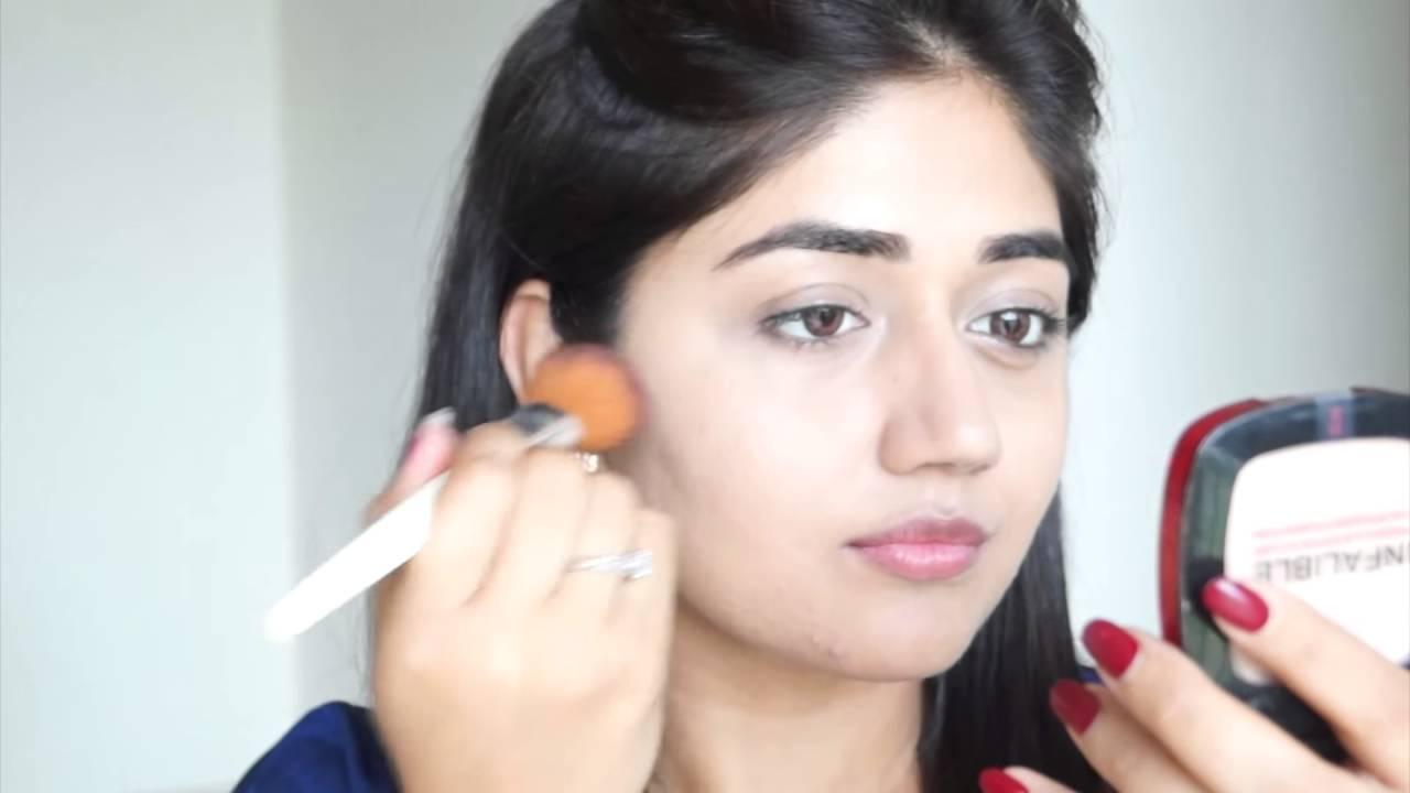 makeup tutorial for fair indian skin