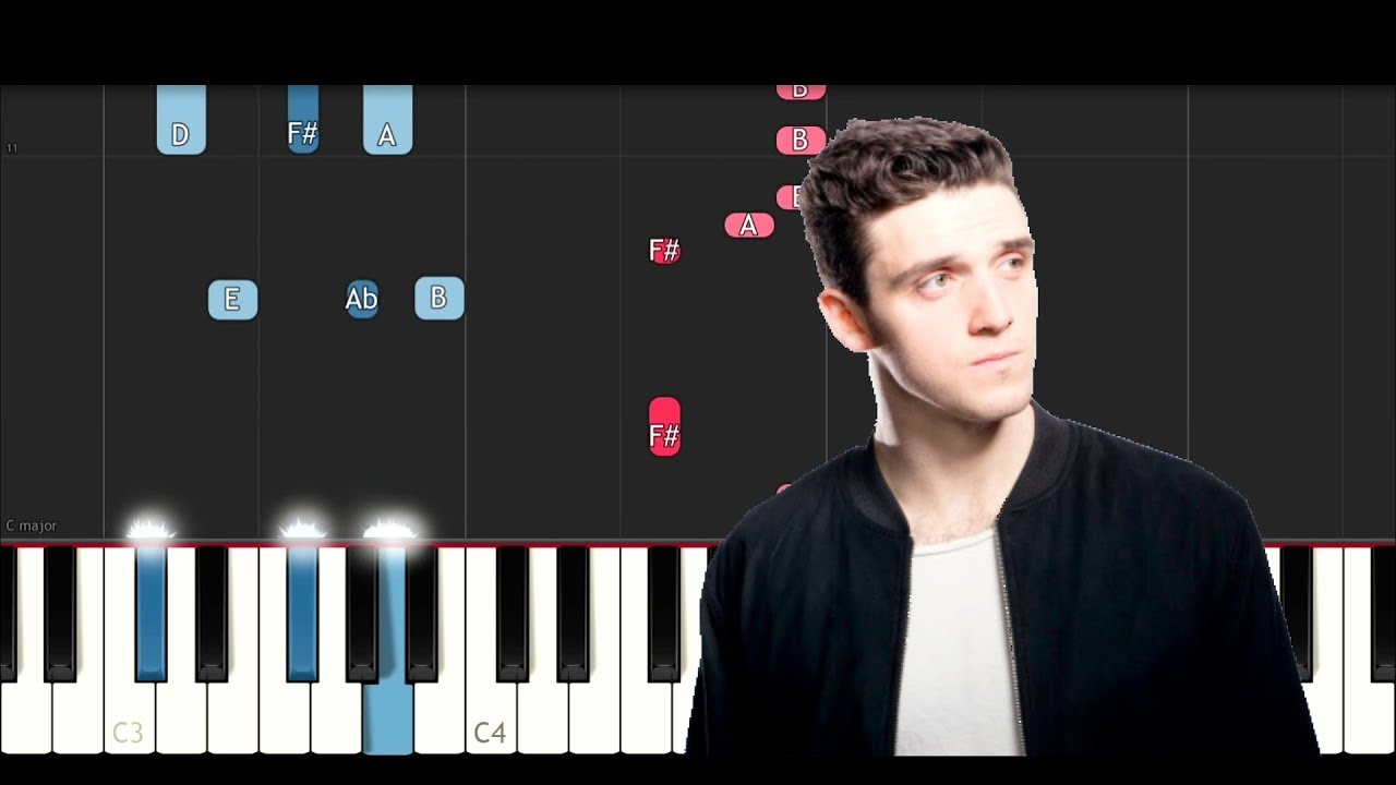 kiss the rain piano tutorial easy slow