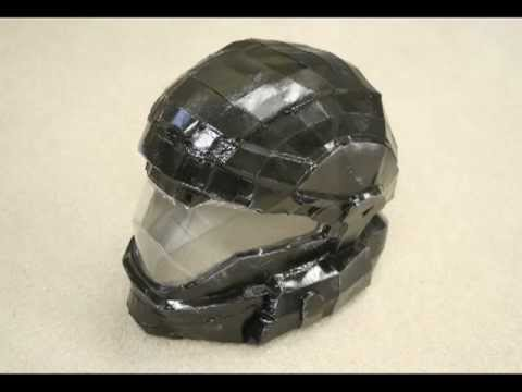 pepakura halo helmet tutorial