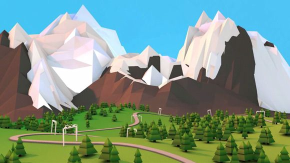 low poly art tutorial