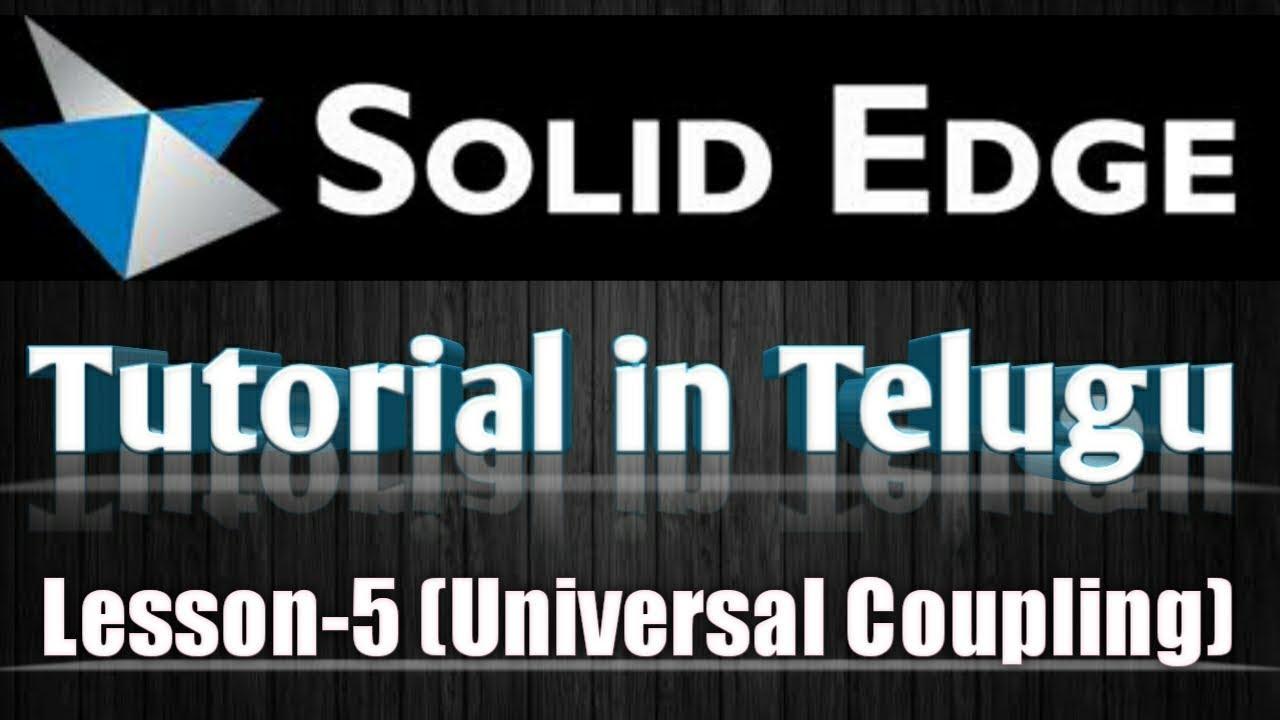 solid edge 2d tutorial