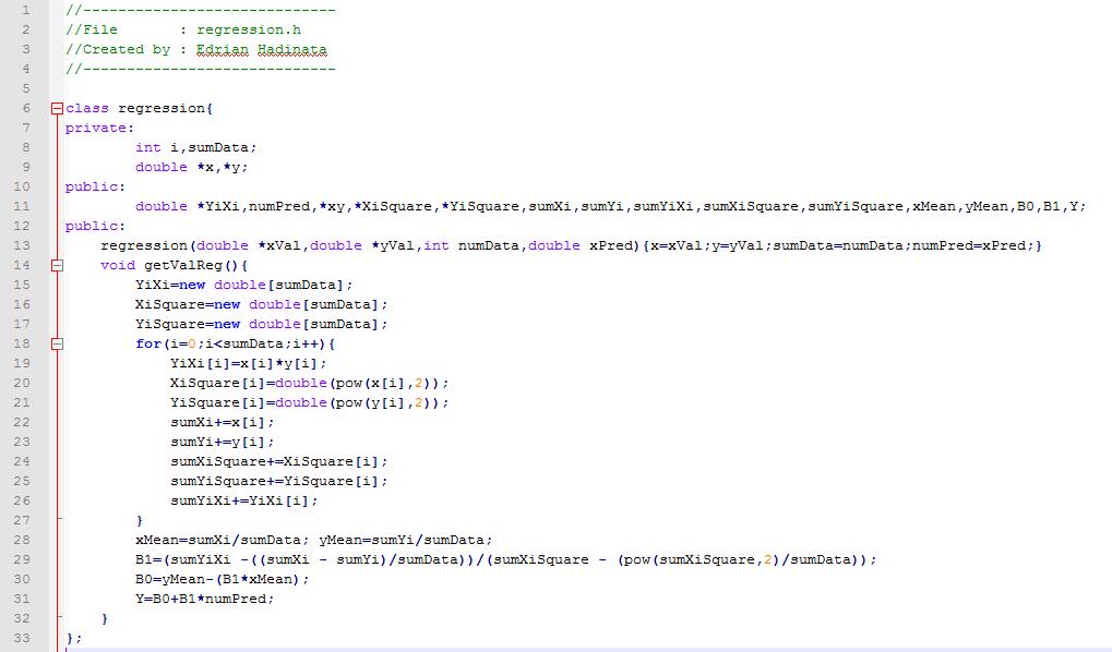 regression in data mining tutorial