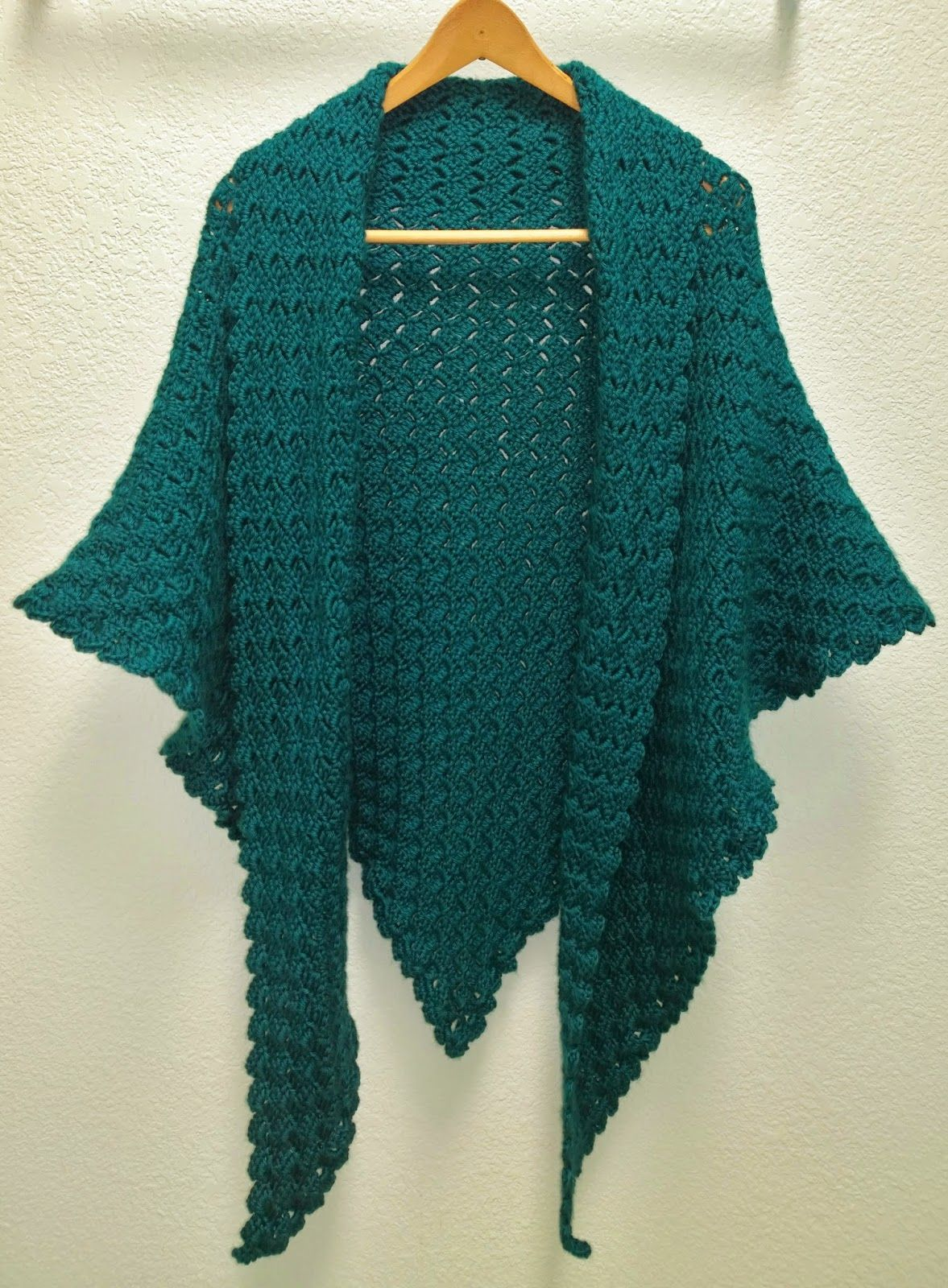 crochet shawl patterns tutorial