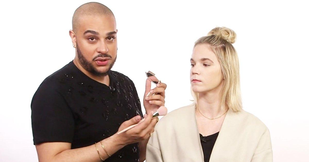 bronzer tutorial for pale skin