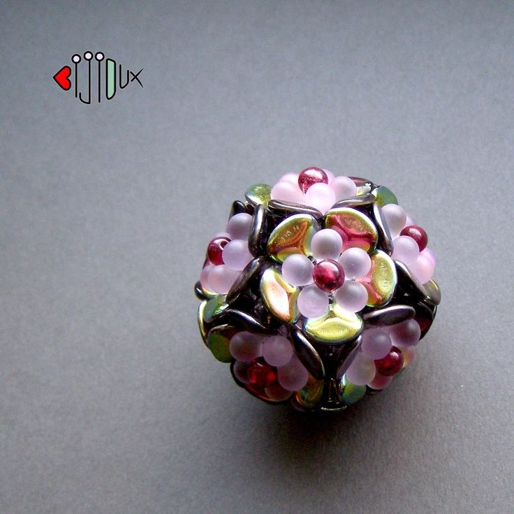dragon scale beads tutorial