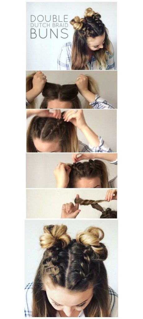 dutch braid tutorial step by step