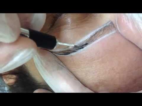 microblading tutorial step by step