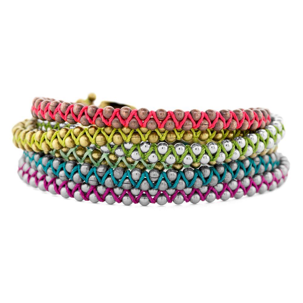 zig zag bracelet tutorial