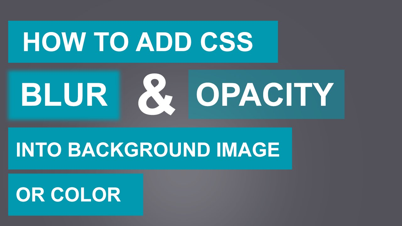 css background image tutorial