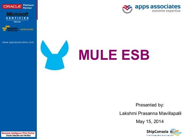 mule esb tutorial ppt