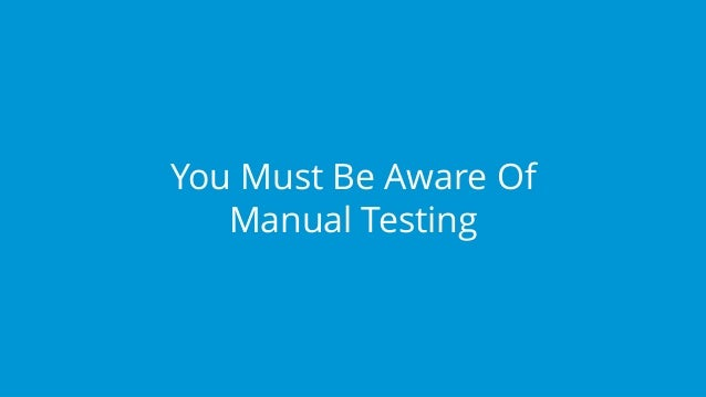 javascript tutorial for automation testing