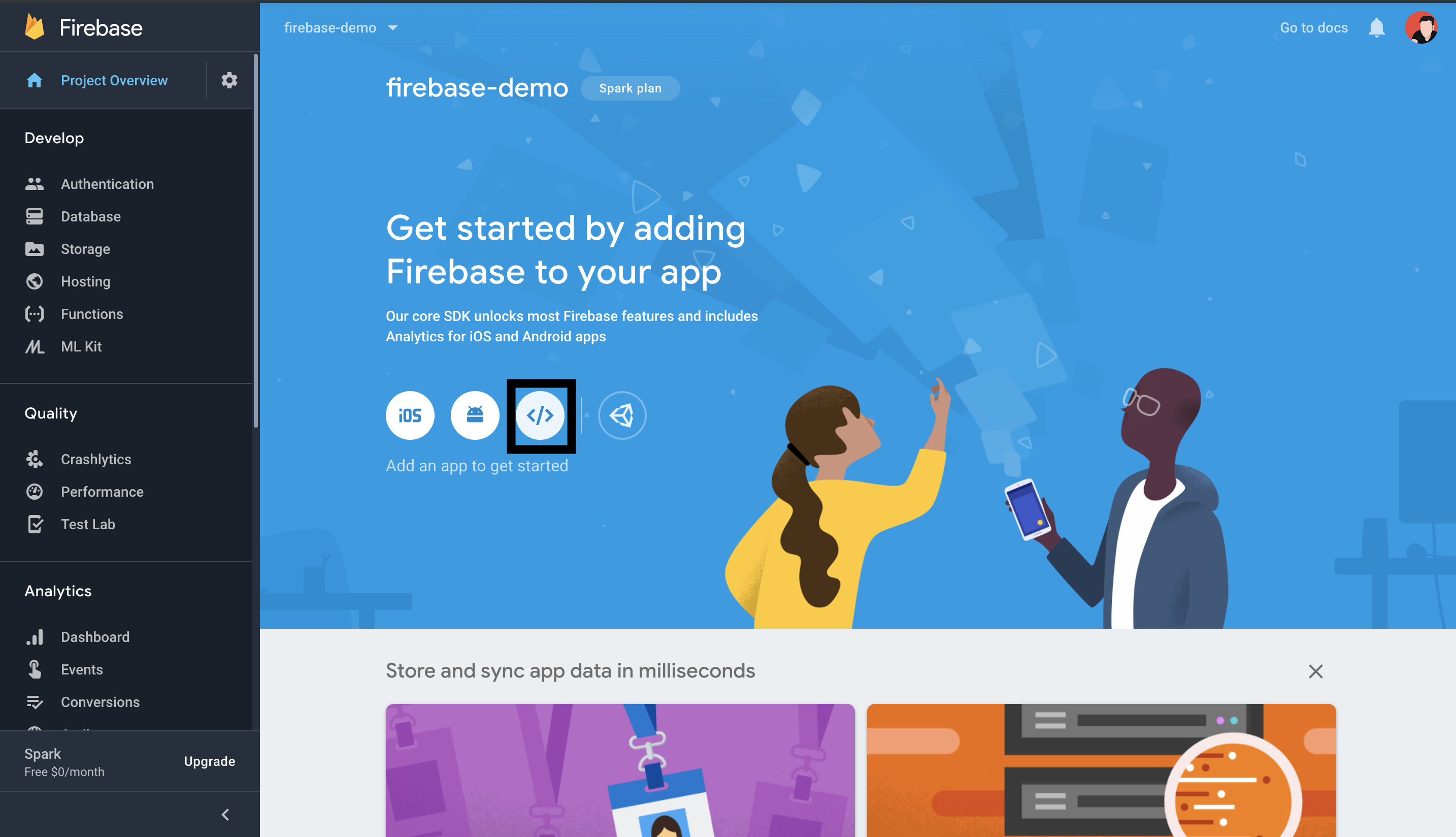 firebase database structure tutorial