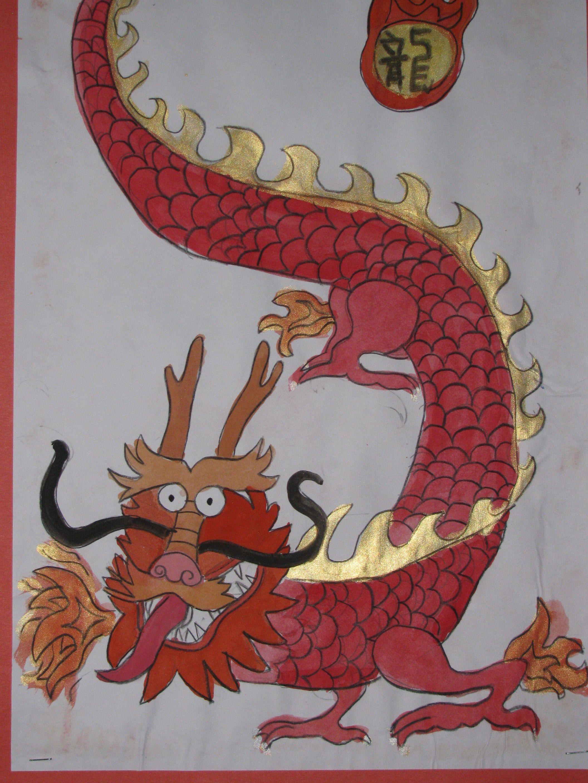 chinese dragon drawing tutorial
