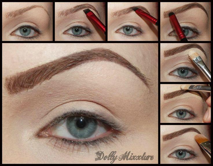 rimmel eyebrow pencil tutorial