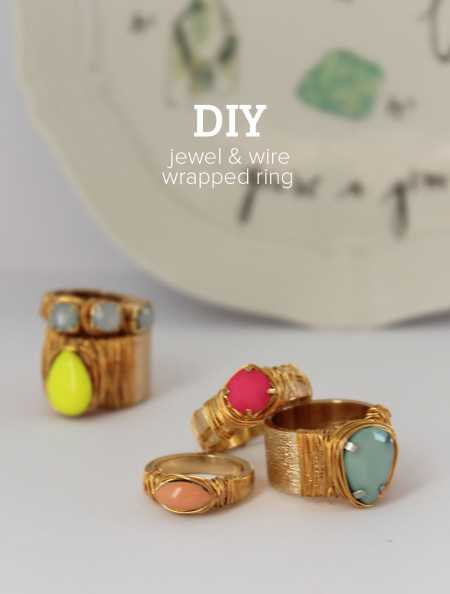 wire wrapped sea glass ring tutorial