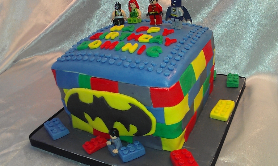 lego batman cake tutorial