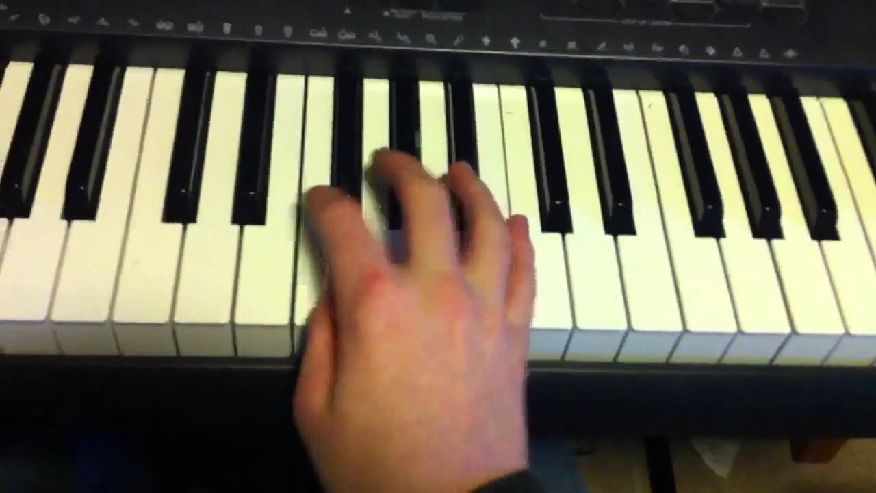 axel f piano tutorial