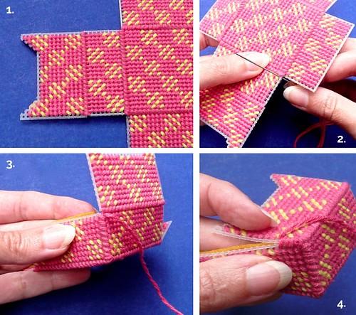 plastic canvas stitches tutorial