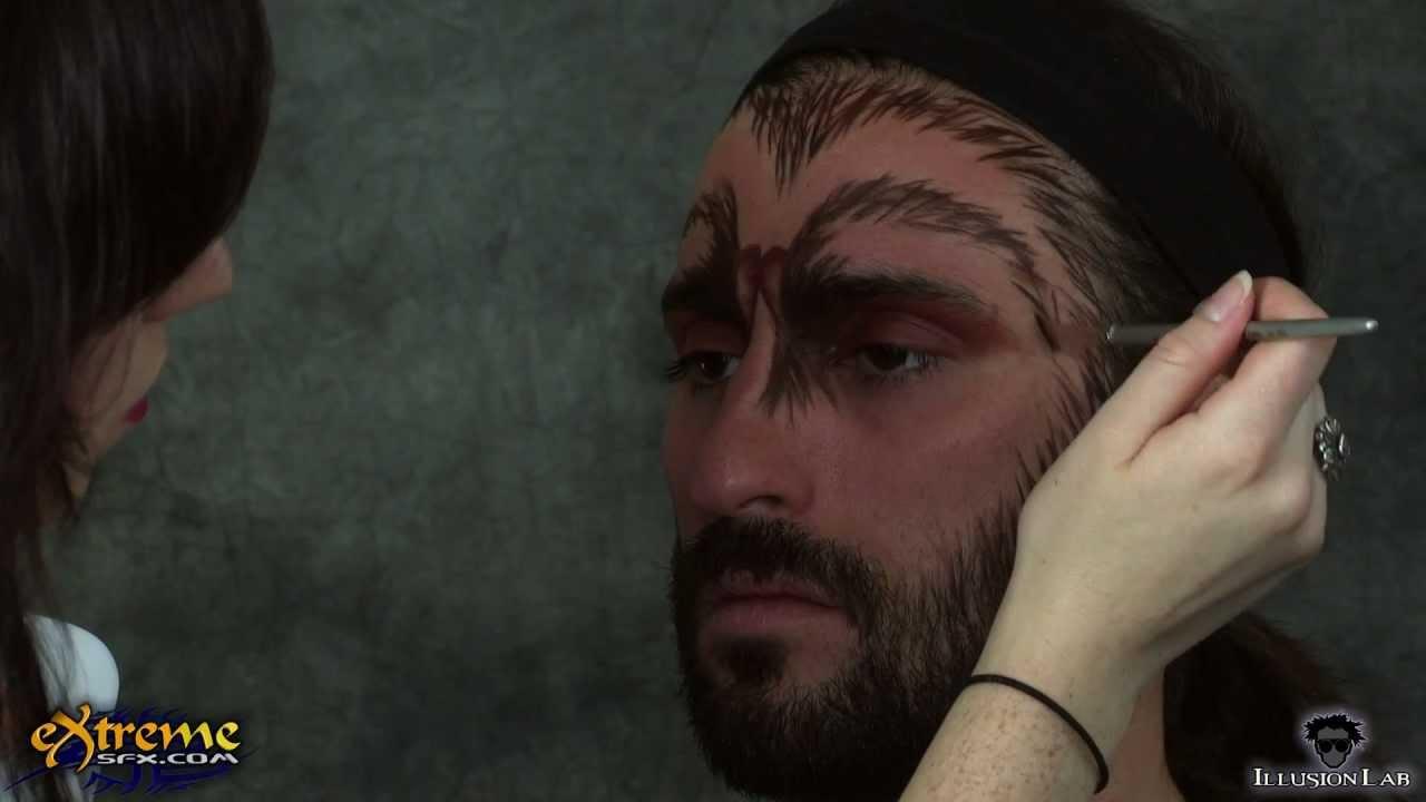 vampire makeup tutorial male