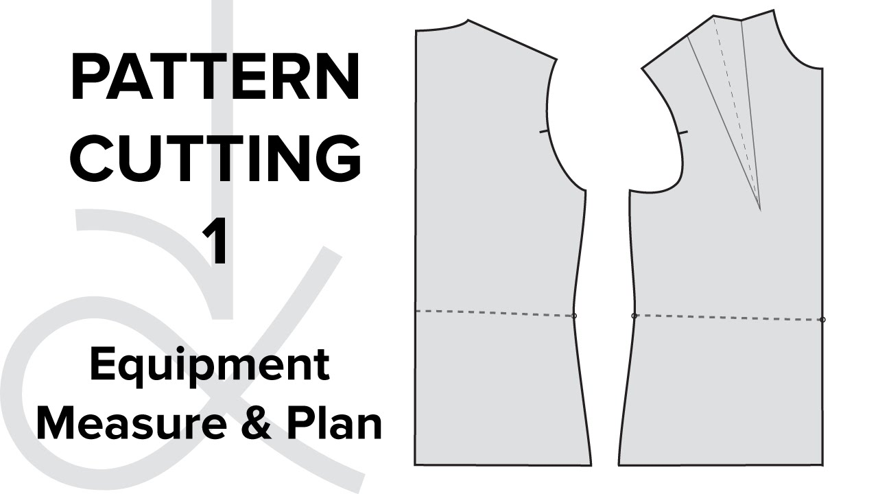 dress pattern making tutorial