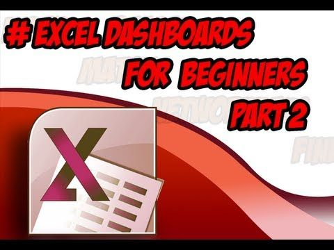 excel dashboard tutorial for beginners