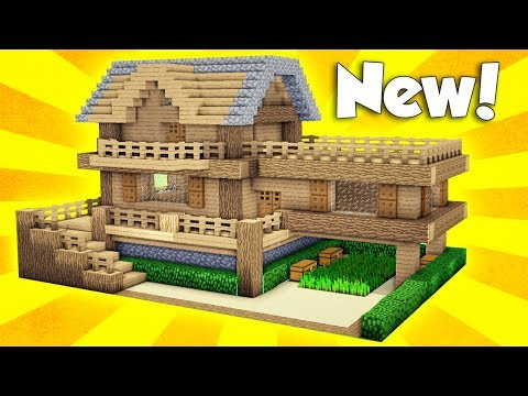 minecraft simple house tutorial