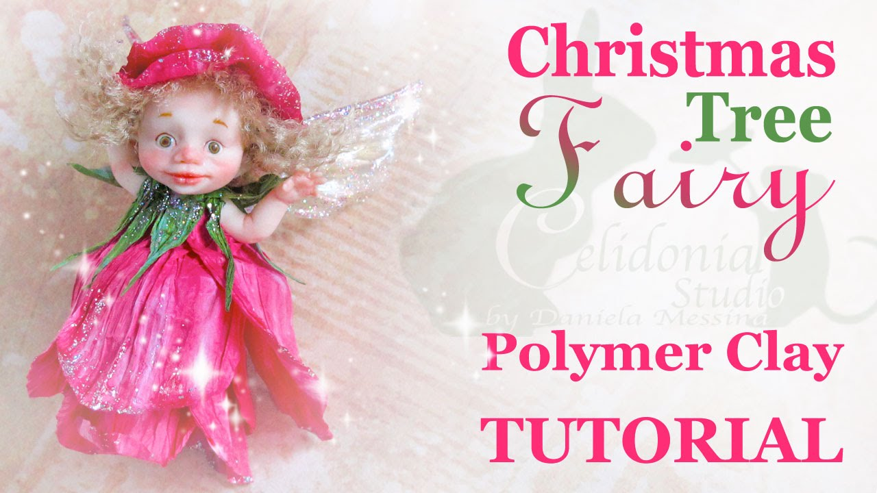 polymer clay fairy tutorial