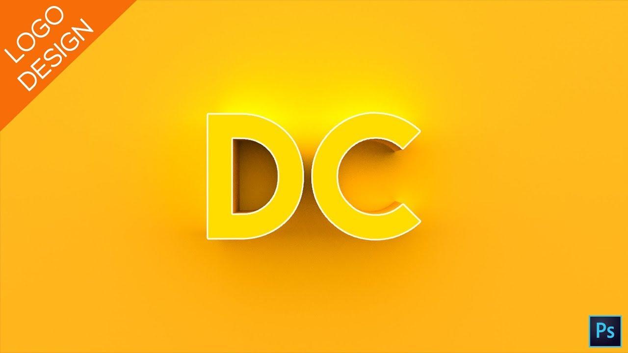 photoshop text logo tutorial