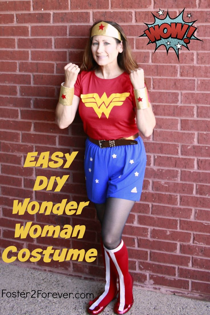 wonder woman girl costume tutorial