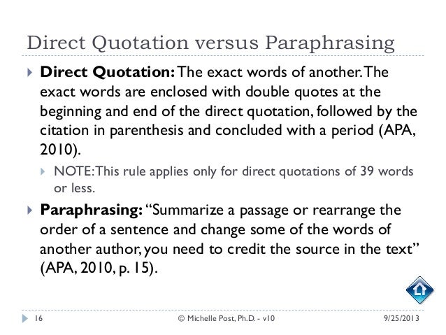 you quote it you note it plagiarism tutorial